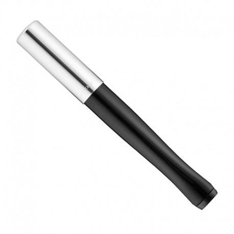 Sigarettenpijpje Zilver zwart lang
