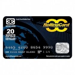 Credit card vloeipapier