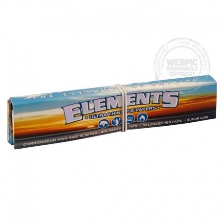 Elements 2 in 1 Kingsize slim