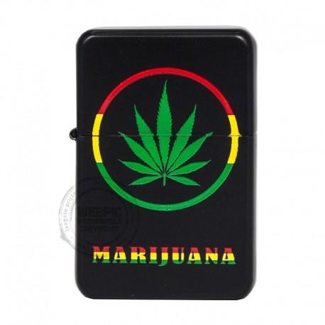 Benzine aansteker Leaf marijuana