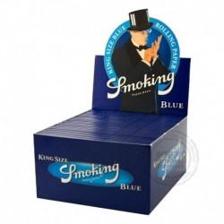 Smoking Blue Lange vloei Display