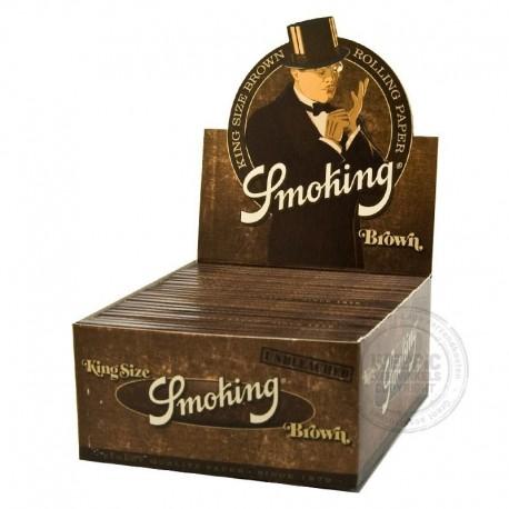 Smoking Brown lange vloei Display