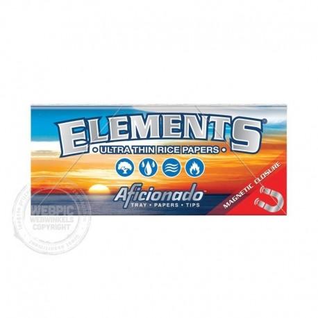 Elements 3 in 1 Aficionado lange vloei
