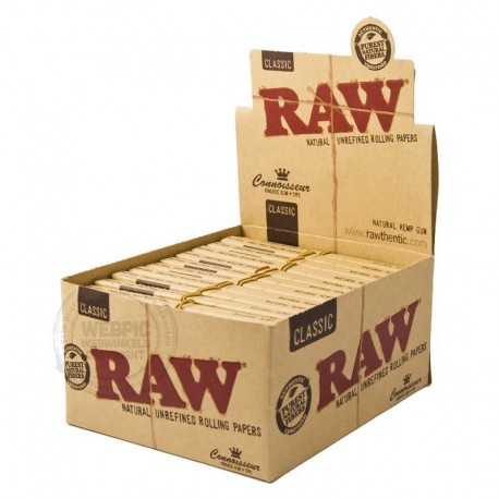RAW kingsize 2 in 1 display 24 stuks