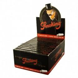 Smoking Black papers & tips in display