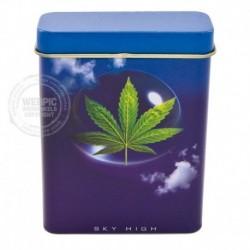 Sigarettenblikje Weed Leaf