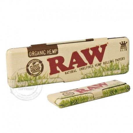 Raw opberg blikje Organic