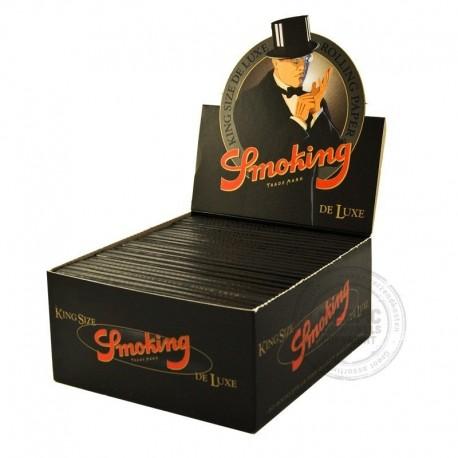 Smoking Black lange vloei display 50 stuks