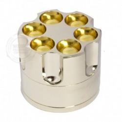 Revolver grinder Zilver
