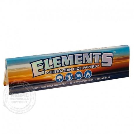 Elements vloei Kingsize slim per stuk