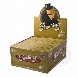 Smoking Gold Lange vloei slim Display 50 pakjes