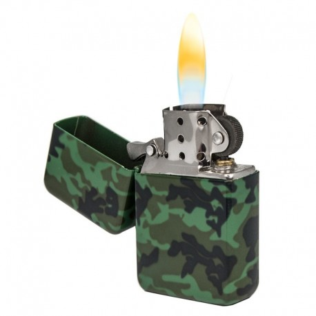 Benzine aansteker Camouflage