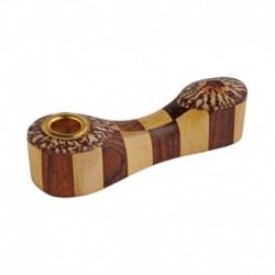 Bongo houten wietpijp