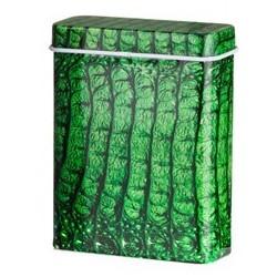 Snake groen sigarettenblikje