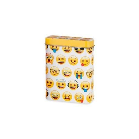Emoji wit sigarettenblikje