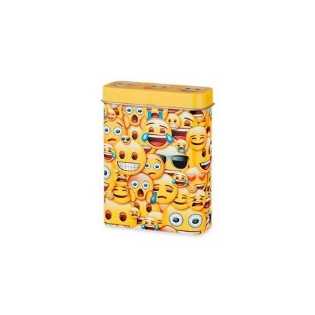 Emoji geel sigarettenblikje