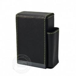 Sigarettenpakje zwart groen