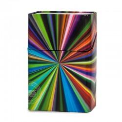 Sigarettenblikje Disco stripes