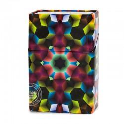 Sigarettenblikje Disco mozaiek