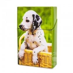 Sigarettenblikje Dieren honden mandje