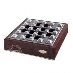 Luxe sigaren asbak hout