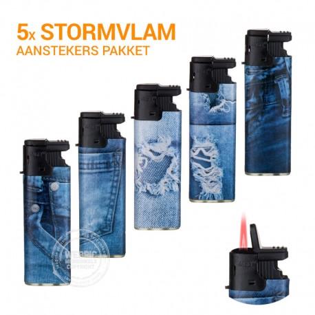 Stormaanstekers pakket Spijkerbroek