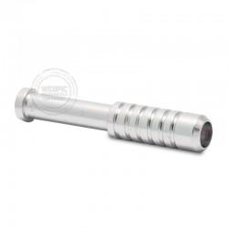 One hitter metaal klein zilver