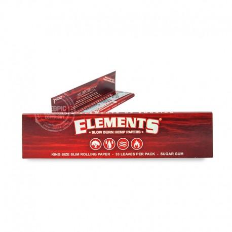 Elements slowburn kingsize slim