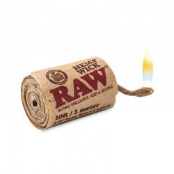 Hemp Wick RAW 3 meter