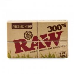 RAW organic 300s 1 1/4e