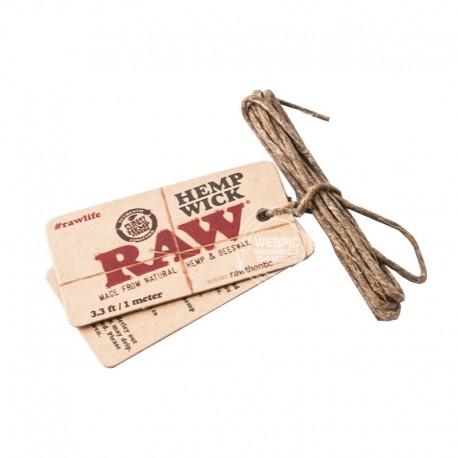 RAW hemp wick 1 meter