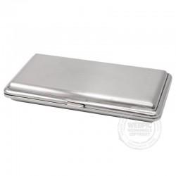 120mm sigarttendoosje zilver