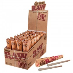 RAW classic kingsize cones display