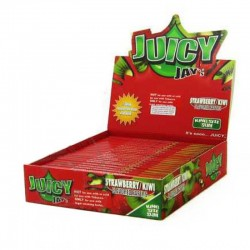 Juicy Jays Aardbei Kiwi display