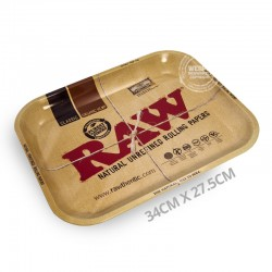 Rolling tray metaal RAW 34cm