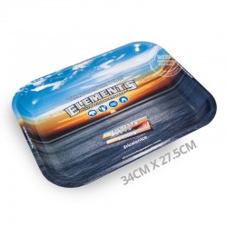 Rolling tray metaal Elements 34cm