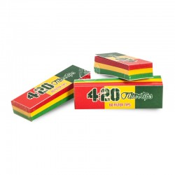 4.20 filtertips Jamaica perforated (3stuks)