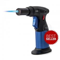 Gasbrander Metallic blauw