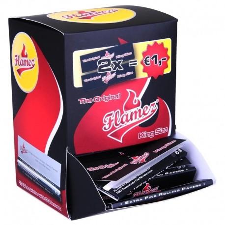 Flamez 100 pakjes display kingsize