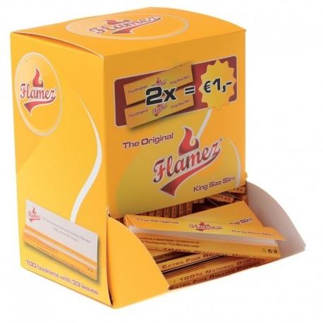 Flamez 100 pakjes display kingsize slim