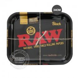 Rolling tray RAW zwart 34cm