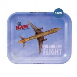 Rolling tray RAW vliegtuig 34cm