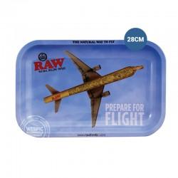 Rolling tray RAW vliegtuig 28cm