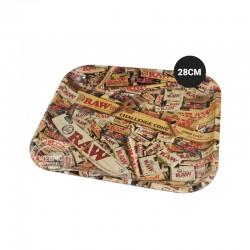Rolling tray RAW pakjes 28cm