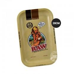 Rolling tray RAW girl 28cm