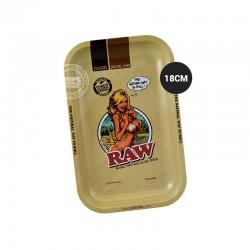 Rolling tray RAW girl 18cm
