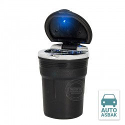 Auto asbak deluxe LED