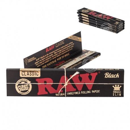 RAW Black Kingsize Slim