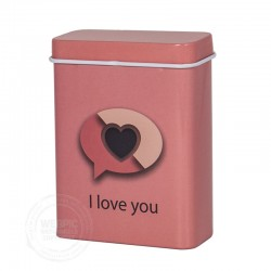 Sigarettenblikje I Love You