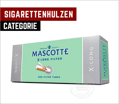 sigarettenhulzen van merken